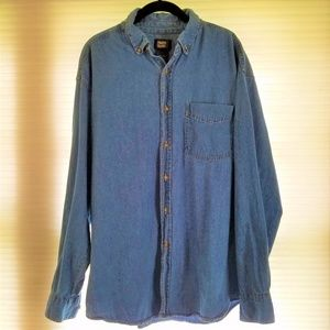 Faded Glory Men's Denim Shirt